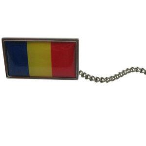 Romania Flag Tie Tack